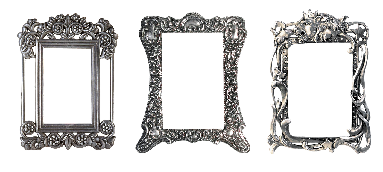Popular Styles Of Sterling Silver Picture Frames